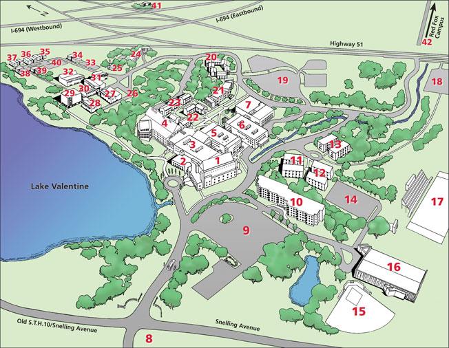 U Of Mn St Paul Campus Map.Virtual Prayer Walk Bethel University